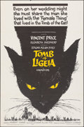 "Movie Posters:Horror, The Tomb of Ligeia (American International, 1965). Folded, Very Fine-. One Sheet (27"" X 41""). Horror.. ..."