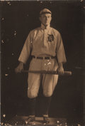 Baseball Collectibles:Photos, 1912-13 Ty Cobb Original Oversized Photograph from The Ty Cobb Collection, PSA/DNA Type 1....