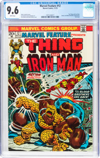 Marvel Feature #12 (Marvel, 1973) CGC NM+ 9.6 White pages