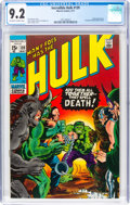 Bronze Age (1970-1979):Superhero, The Incredible Hulk #139 (Marvel, 1971) CGC NM- 9.2 Off-white to white pages....