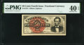 Fractional Currency:Fourth Issue, Fr. 1374 50¢ Fourth Issue Lincoln PMG Extremely Fine 40 EPQ.. ...