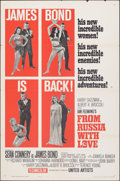 "Movie Posters:James Bond, From Russia with Love (United Artists, 1964). Folded, Fine/Very Fine. One Sheet (27"" X 41"") Style B. James Bond.. ..."