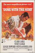 """Movie Posters:Academy Award Winners, Gone with the Wind (MGM/United Artists, R-1980). Folded, Fine. One Sheet (27"""" X 41"""") Howard Terpning Artwork. Academy Award ..."""