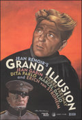 "Movie Posters:Foreign, La Grande Illusion (Rialto, R-1999). Rolled, Very Fine+. One Sheet (26.5"" X 38.75"") DS, Paul Davis Artwork. Foreign. From ..."