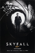 """Movie Posters:James Bond, Skyfall (MGM, 2012). Rolled, Very Fine. One Sheet (27"""" X 40"""") DS Advance. James Bond.. ..."""