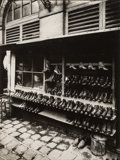 Photographs, Jean Eugène Auguste Atget (French, 1857-1927). Shoe Store, Fashion, Paris, France, 1890. Gelatin silver, printed later p...