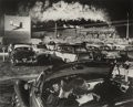 Photographs, O. Winston Link (American, 1914-2001). Hot Shot Eastbound, Iaeger Drive-in, Iaeger, West Virginia, 1956. Gelatin silver,...