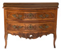 Furniture, A French Provincial Louis XV Carved Walnut Commode, 19th century . 35-1/2 x 49 x 24-1/2 inches (90.2 x 124.5 x 62.2 cm). ...