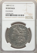 Morgan Dollars: , 1889-CC $1 -- Cleaned -- NGC Details. XF. Mintage 350,000. ...