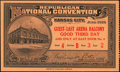 Obsoletes By State:Kansas, 1928 Republican National Convention Admission Ticket.. ...