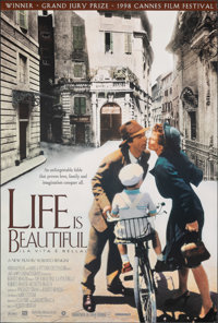 """Life is Beautiful & Other Lot (Miramax, 1998). Rolled, Very Fine+. One Sheets (2) (27"""" X 40"""") SS. Foreign..."""