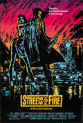"Movie Posters:Action, Streets of Fire (Universal, 1984). Rolled, Fine/Very Fine. One Sheet (27"" X 40""). Action.. ..."