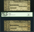 Obsoletes By State:Maine, Bangor, ME- Globe Bank $5 May 1, 1840; June 1, 1840 Very Fine; PCGS Very Fine 20.. ... (Total: 2 notes)