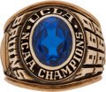 Basketball Collectibles:Others, 1967-69 UCLA Bruins NCAA Basketball Championship Ring Presented to Lew Alcindor (Kareem Abdul-Jabbar)....