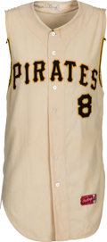 Baseball Collectibles:Uniforms, 1964 Willie Stargell Game Worn & Signed Pittsburgh Pirates Jersey, MEARS A7.5....