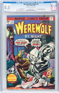 Bronze Age (1970-1979):Horror, Werewolf by Night #32 (Marvel, 1975) CGC VF+ 8.5 Off-white to white pages....