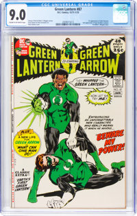 Green Lantern #87 (DC, 1971) CGC VF/NM 9.0 Cream to off-white pages
