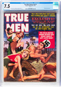 Magazines:Adventure, True Men Stories V6#3 (Feature Publications, 1962) CGC VF- 7.5 Cream to off-white pages....