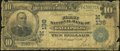 Gallipolis, OH - $10 1902 Date Back Fr. 616 The First National Bank Ch. # (M)136 Good
