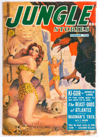Jungle Stories - Summer 1950 (Fiction House) Condition: FN
