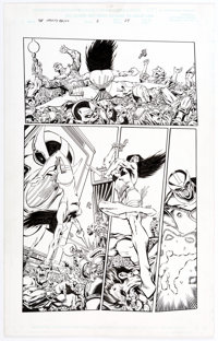 Jim Starlin and Al Milgrom Infinity Abyss #1 Story Page 24 Original Art (Marvel, 2002)