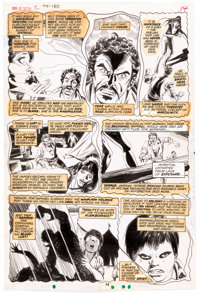 "Celso ""Sonny"" Trinidad Son of Satan #2 Story Page 14 Original Art (Marvel Comics, 1976)"