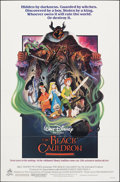 """Movie Posters:Animation, The Black Cauldron & Other Lot (Buena Vista, 1985). Folded, Fine/Very Fine. One Sheets (2) (27"""" X 41"""" & 26"""" X 39.5"""") SS, Pau... (Total: 2 Items)"""