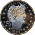 Proof Barber Quarters: , 1896 25C PR66 NGC. NGC Census: (33/33). PCGS Population: (31/21). CDN: $1,250 Whsle. Bid for NGC/PCGS PR66. Mintage 762. ...