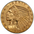 Indian Half Eagles, 1908 $5 MS64 PCGS. CAC. PCGS Population: (818/268). NGC Census: (727/130). CDN: $1,850 Whsle. Bid for NGC/PCGS MS64. Mintag...