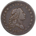 1795 50C 2 Leaves, O-110a, T-21, R.3, VF25 PCGS. PCGS Population: (1/1 and 0/1+). NGC Census: (1/2 and 0/0+). VF25. ...(...