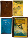Books:Hardcover, Jules Verne Antique Hardcover Books Group of 9 (Various Publishers, c. 1890s-1920s).... (Total: 9 Items)