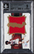 """Basketball Cards:Singles (1980-Now), 2004-05 Exquisite Collection """"Extra Exquisite Jersey Dual"""" Julius Erving #EE2-JE BGS Mint 9 - Serial Numbered 9/10...."""