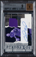 Basketball Cards:Singles (1980-Now), 2003-04 SPx Chris Bosh Rookie Jersey Autograph #154 BGS Mint 9, Auto 9 - Serial Numbered 384/750....