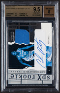 Basketball Cards:Singles (1980-Now), 2003-04 SPx Carmelo Anthony Rookie Jersey Autograph #153 BGS Gem Mint 9.5, Auto 8....