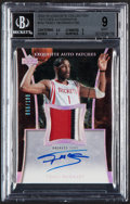 Basketball Cards:Singles (1980-Now), 2004-05 Exquisite Collection Exquisite Auto Patches Tracy McGrady #AP-TM BGS Mint 9, Auto 10 - Serial Numbered 66/100....