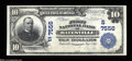Batesville, AR - $10 1902 Plain Back Fr. 624 The First NB Ch. # (S)7556 A lovely, well centered and fully embossed exam...