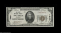 Fort Smith, AR - $20 1929 Ty. 1 The First NB Ch. # 1950 The first of two beautiful, fully original, boldly embossed exa...