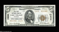 National Bank Notes:Arkansas, Lake Village, AR - $5 1929 Ty. 2 The First NB Ch. # ...