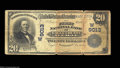 National Bank Notes:Colorado, Eagle, CO - $20 1902 Date Back Fr. 644 The First NB of ...