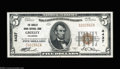 National Bank Notes:Colorado, Greeley, CO - $5 1929 Ty. 1 The Greeley Union NB Ch. # ...