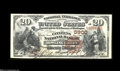 National Bank Notes:Kentucky, Bowling Green, KY - $20 1882 Brown Back Fr. 504 The ...