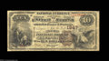 National Bank Notes:Kentucky, Covington, KY - $10 1882 Brown Back Fr. 485 The German ...