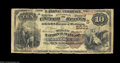 National Bank Notes:Kentucky, Harrodsburg, KY - $10 1882 Brown Back Fr. 490 The Mercer ...
