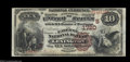 National Bank Notes:Kentucky, Lexington, KY - $10 1882 Brown Back Fr. 484 The Fayette ...