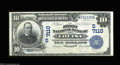 National Bank Notes:Kentucky, Louisa, KY - $10 1902 Date Back Fr. 616 The First NB ...