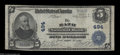 National Bank Notes:Maine, Bath, ME - $5 1902 Plain Back Fr. 598 The Bath NB Ch. #...