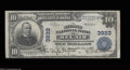 National Bank Notes:Maryland, Bel Air, MD - $10 1902 Plain Back Fr. 626 The Second NB