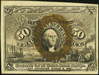 Fr. 1317 50¢ Second Issue Very Fine