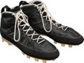 Basketball Collectibles:Others, 1994 Michael Jordan Game Worn Birmingham Barons Air Jordan Cleats--Consigned by Fellow Player!...