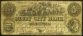 Caledonia, IL- Bluff City Bank Spurious $5 Aug. 21, 1860 Very Good-Fine